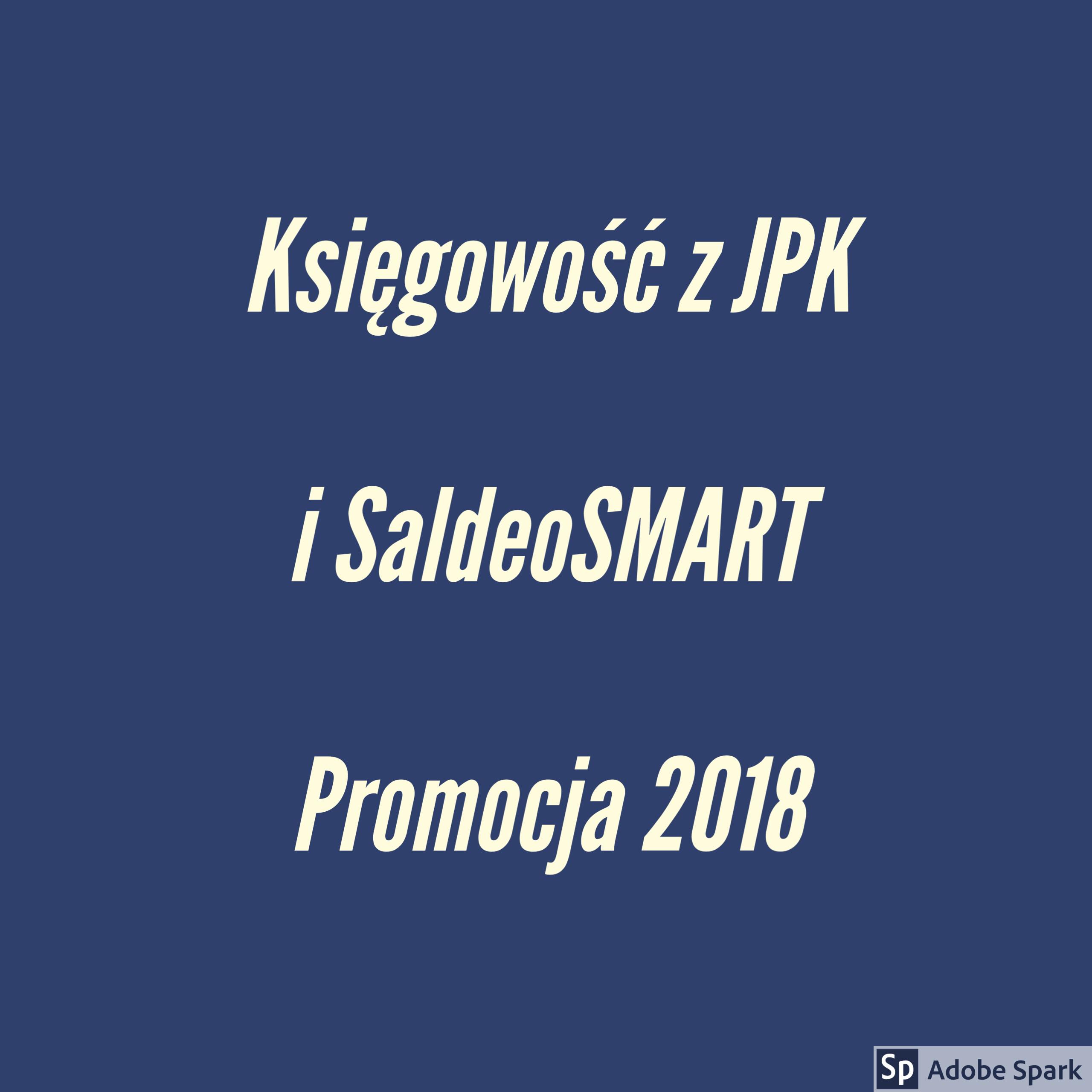 Promocja 2018 JPK_VAT